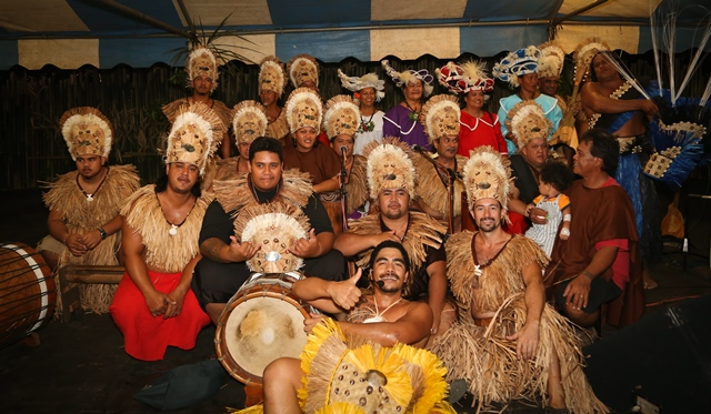 Tahiti táncosok a fesztiválon