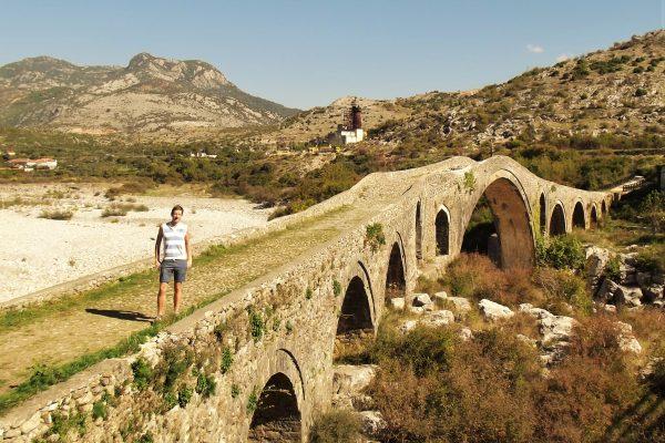 30. születésnap a Mesi-hídon (Albánia, Shkoder, Mesi) Halász Levente