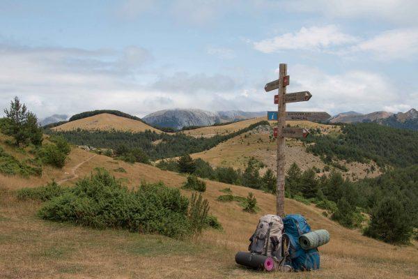A Központi-Pireneusok határán