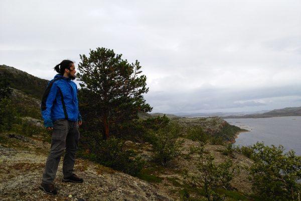 Egy kis hegymászás Lakselvnél