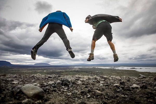 Izlandon repülni is megtanultunk
