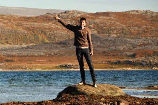 Jeges-óceánban (Lakselv, Norvégia) Halász Levente