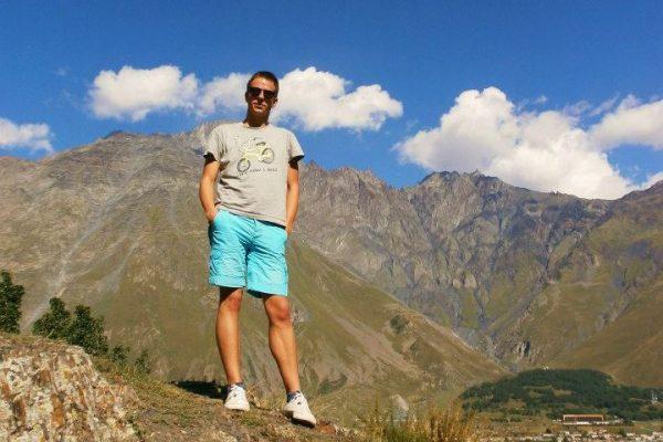 Mt, Kazbegi, 2 km-re a csecsen határtól (Kazbegi, Grúzia) Halász Levente