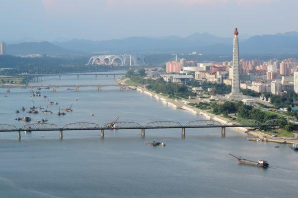 Pyongyang_Taedong_river