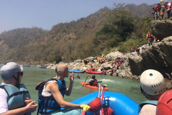 Risikes - rafting a Gangeszen