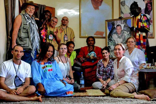 Vallási vezetővel, úgynevezett marabuval is találkoztunk Szenegálban, akinek a jelenléte áldást is közvetít