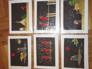 Tímea, gyűjtés, képeslapok Ázsiából (3)